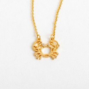 Kate Spade Zodiac Cancer Crab Necklace